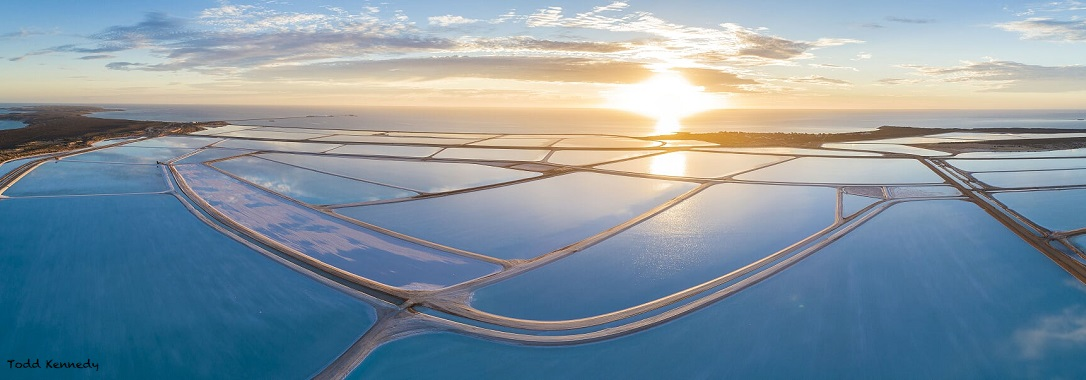 Aerial view of Shark Bay Resources.